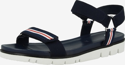 GERRY WEBER SHOES Sandale in blau / rot / weiß, Produktansicht