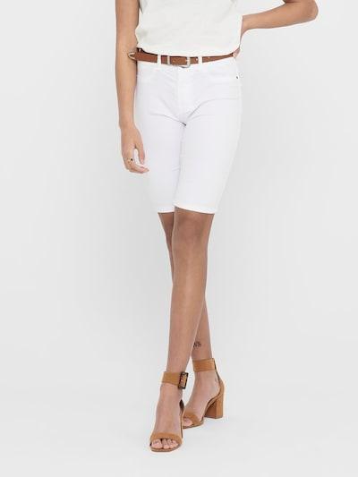 JDY Broek 'Nikki' in de kleur Wit, Modelweergave