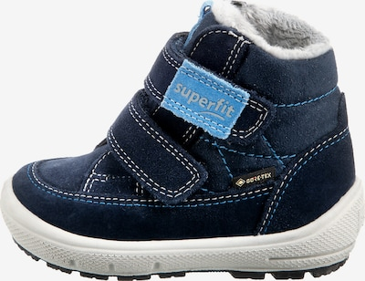 SUPERFIT Boots 'GROOVY' in Light blue / Dark blue / White, Item view