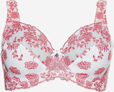 Sutien SHEEGO pe roz / alb, Vizualizare produs