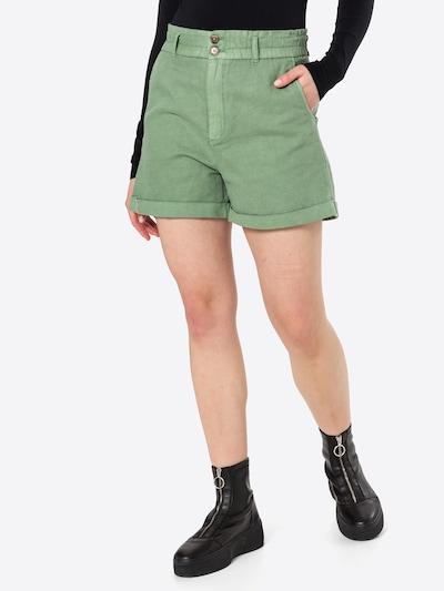 GAP Pantalon en vert pastel, Vue avec modèle