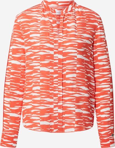 Calvin Klein Bluse in orange / weiß, Produktansicht