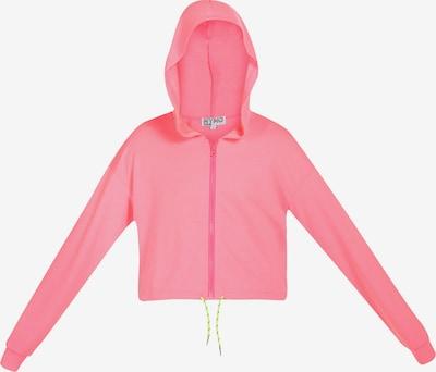 myMo ATHLSR Bluza rozpinana sportowa w kolorze neonowy różm, Podgląd produktu