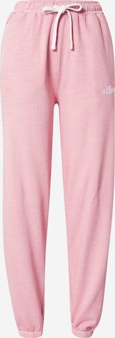 ELLESSE Püksid 'Velam', värv roosa