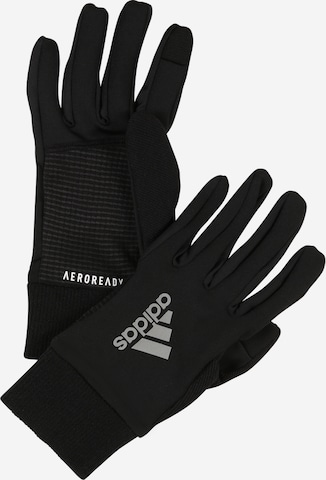 ADIDAS PERFORMANCE Athletic Gloves in Black