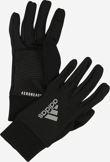 ADIDAS PERFORMANCE Gants de sport en noir / blanc, Vue avec produit