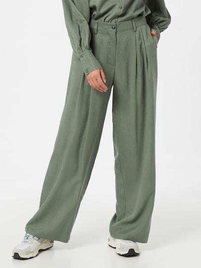 MOSS COPENHAGEN Hose in grün, Modelansicht