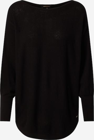 MORE & MORE Širok pulover | črna barva, Prikaz izdelka