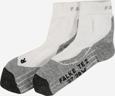 FALKE Sports socks in Grey / Black / White, Item view
