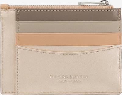DuDu Portemonnaie 'Tiago' in beige / taupe / pastellorange, Produktansicht