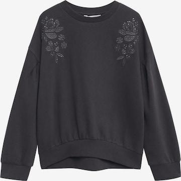 MANGO KIDS Sweatshirt 'Biti' in Grau