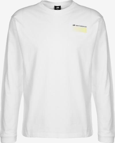 new balance Sport Style Optiks Longsleeve Herren in gelb / schwarz / weiß, Produktansicht