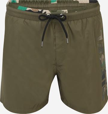 DIESEL Ujumispüksid 'WAVE-X', värv roheline