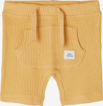NAME IT Trousers 'Hardy' in Yellow