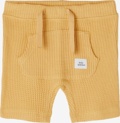 Pantaloni 'Hardy' NAME IT pe galben șofran, Vizualizare produs