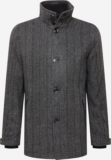 INDICODE Prechodný kabát 'Nixon' - sivá / čierna / biela, Produkt