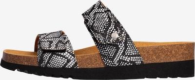 SCHOLL Sandalen Ohne Riemen 'LUSAKA 2.0' in grau / schwarz / weiß, Produktansicht