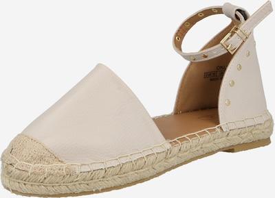 ONLY Espadrilles 'EVA' en beige / blanc, Vue avec produit
