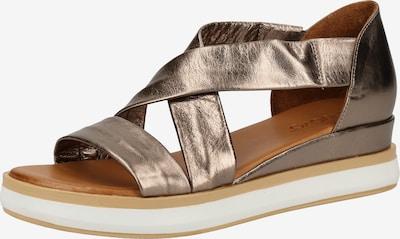 INUOVO Sandalen in bronze, Produktansicht