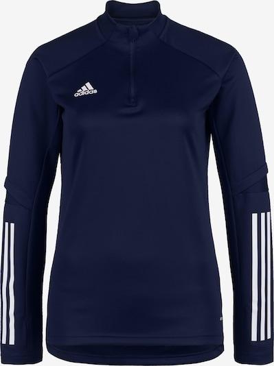 ADIDAS PERFORMANCE Jacke in blau / weiß: Frontalansicht