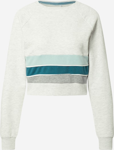 ONLY PLAY Sports sweatshirt in turquoise / pastel blue / light grey / dark grey, Item view