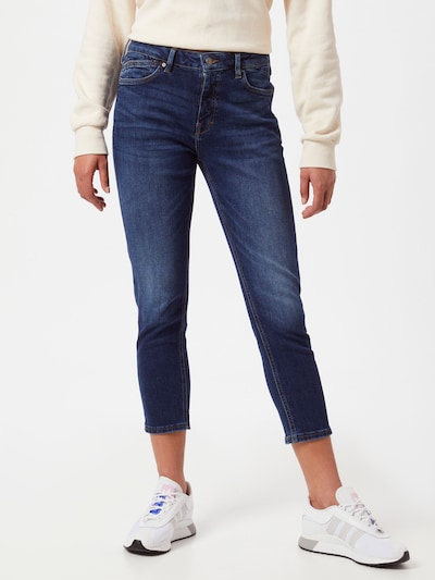 ESPRIT Jeans in de kleur Donkerblauw, Modelweergave