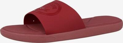 LACOSTE Badelatschen in rot, Produktansicht