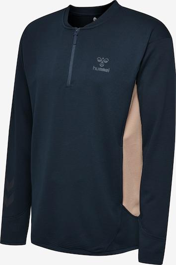 Hummel Sweatshirt in beige / blau, Produktansicht