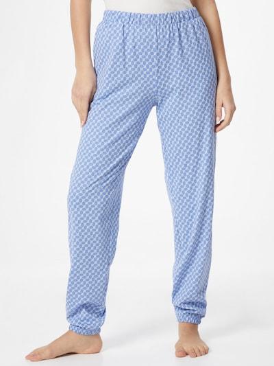 JOOP! Bodywear Spodnji del pižame | svetlo modra / bela barva: Frontalni pogled