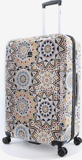 Saxoline Hartschalenkoffer 'Mosaic' in mischfarben, Produktansicht