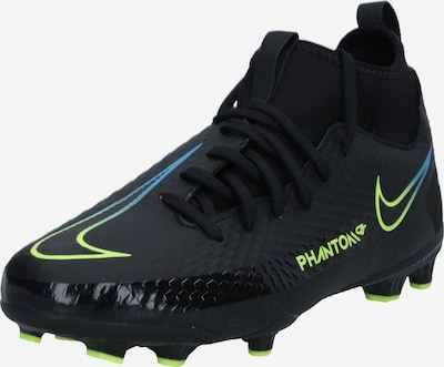 NIKE Спортни обувки 'Phantom GT Academy' в неоново синьо / неоново жълто / черно, Преглед на продукта