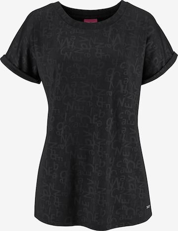 VENICE BEACH Shirt in Schwarz