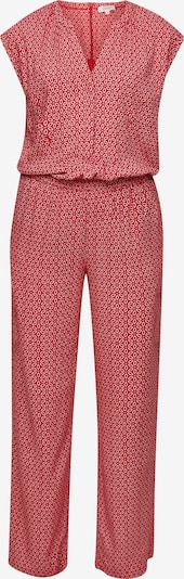 s.Oliver Jumpsuit in de kleur Rood / Wit, Productweergave