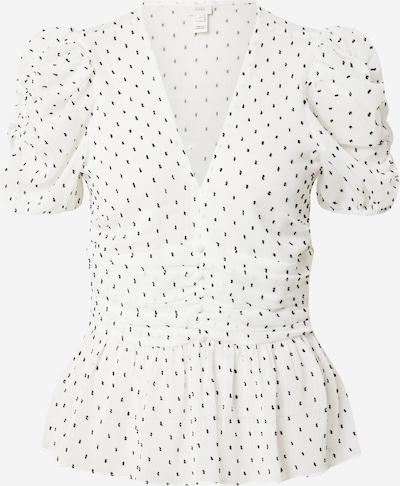 River Island Bluse in schwarz / weiß, Produktansicht