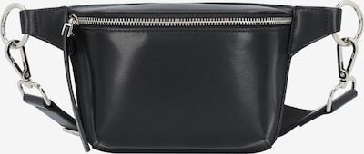 Seidenfelt Manufaktur Tasche 'Kumla' in schwarz, Produktansicht