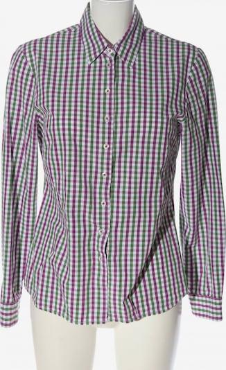 HAMMERSCHMID Langarmhemd in L in grün / lila / weiß, Produktansicht