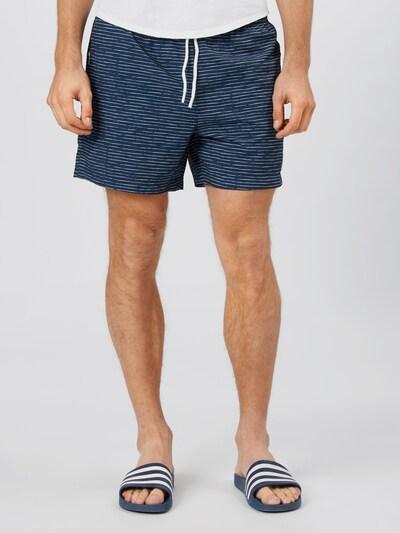 Ragwear Hlače 'STANNIS' u mornarsko plava / bijela, Prikaz modela