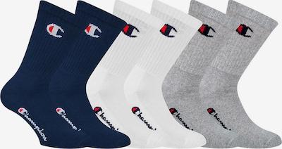 Champion Authentic Athletic Apparel Socken in blau / grau / weiß, Produktansicht