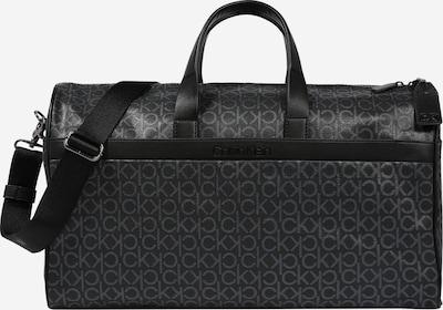 Calvin Klein Sac de voyage en gris / noir, Vue avec produit