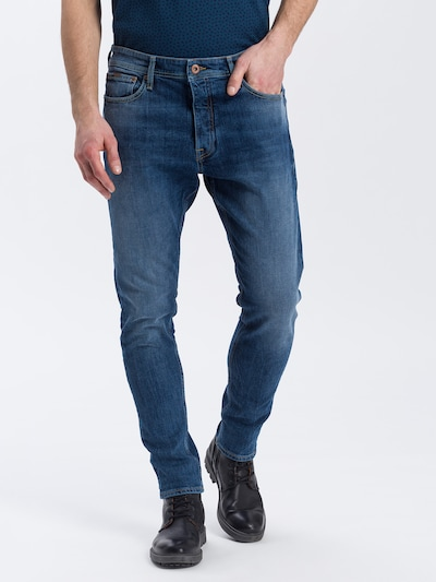 Cross Jeans Jeans ' Jaden ' in blau, Modelansicht