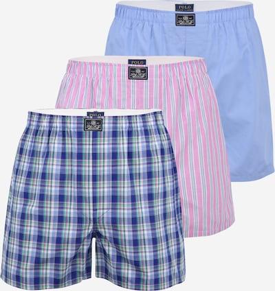 POLO RALPH LAUREN Bokserishortsit värissä sininen / petrooli / roosa / valkoinen, Tuotenäkymä