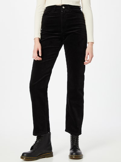 WEEKDAY Панталон 'Rowe' в черно, Преглед на модела