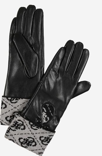 GUESS Rękawiczki pięciopalczaste w kolorze ciemnoszary / czarnym, Podgląd produktu