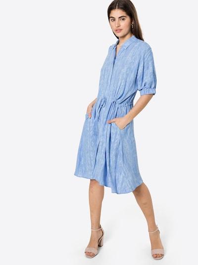 Soft Rebels Robe-chemise 'SRSue' en turquoise, Vue avec modèle