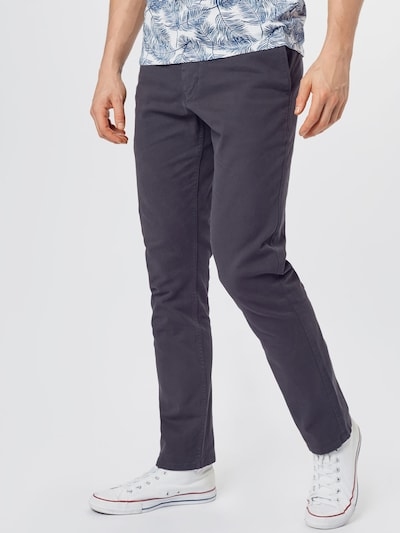 ARMEDANGELS Pantalon chino 'ATO' en bleu nuit, Vue avec modèle