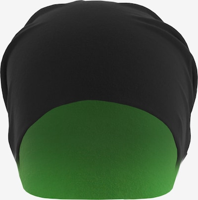 MSTRDS Bonnet ' Jersey Beanie reversible ' en vert fluo, Vue avec produit