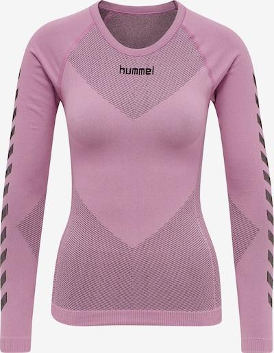 Hummel Functioneel shirt in de kleur Rosa / Zwart, Productweergave
