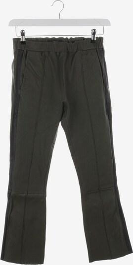Arma Lederhose in M in khaki / schwarz, Produktansicht