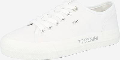 TOM TAILOR DENIM Låg sneaker i vit, Produktvy