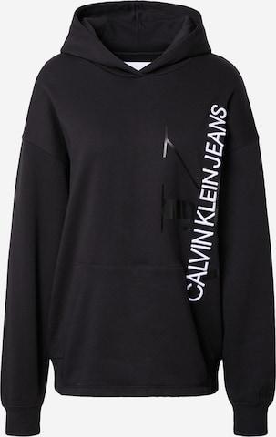 Calvin Klein Jeans Dressipluus, värv must